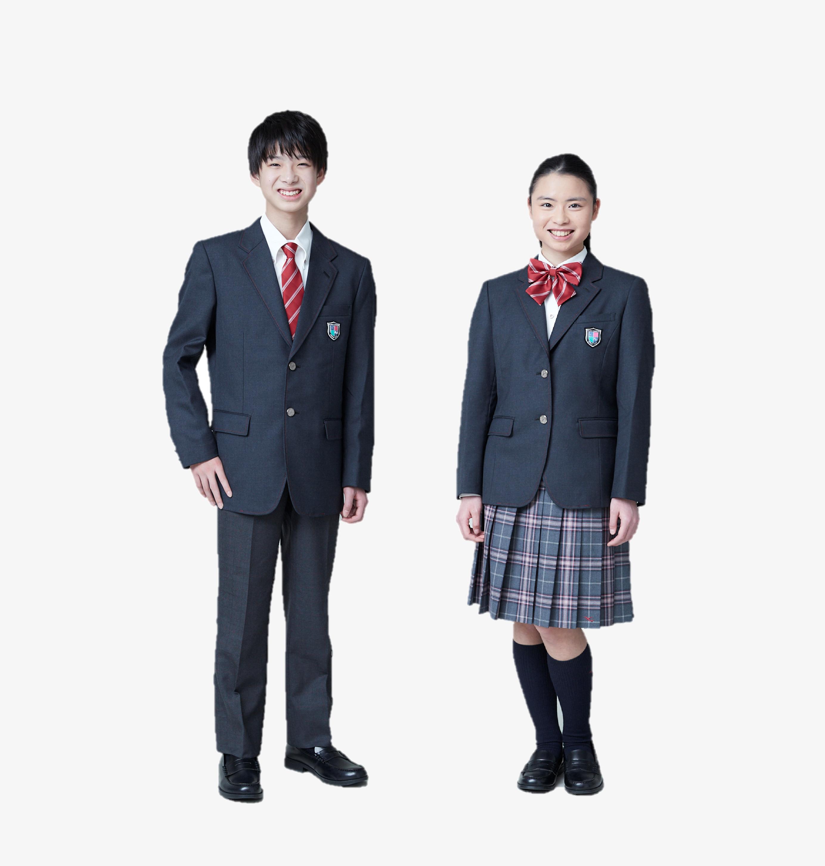 神戸学院大学附属中学校制服